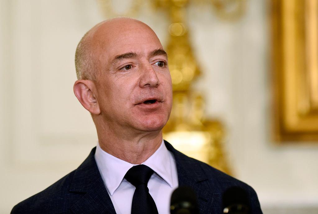 Jeff Bezos, założyciel i prezes Amazona
