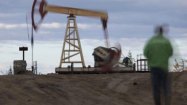 Na polu naftowym