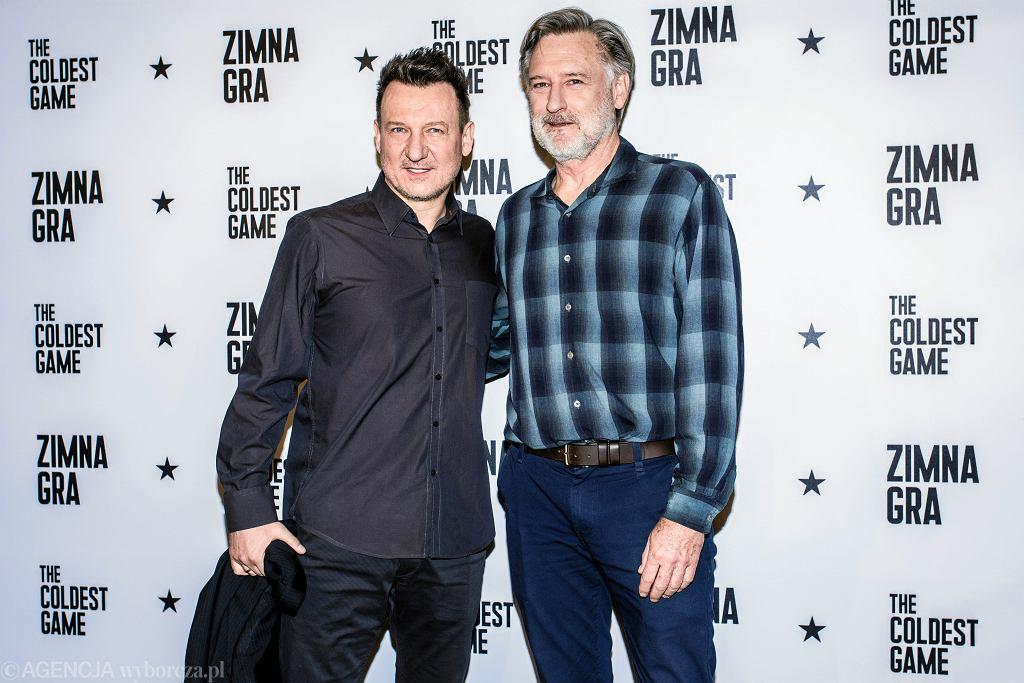 Robert Więckiewicz i Bill Pulman