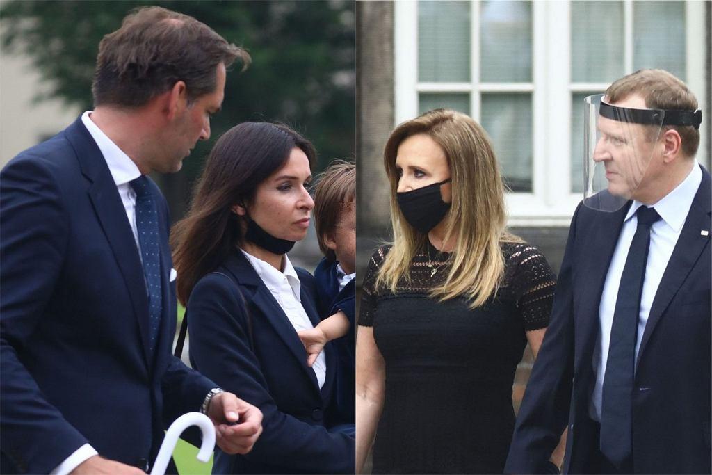 Marta Kaczyńska z mężem, Jacek Kurski z żoną