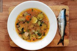 Zupa rybna - regionalne danie wigilijne. Prosta potrawa, która weszła na salony