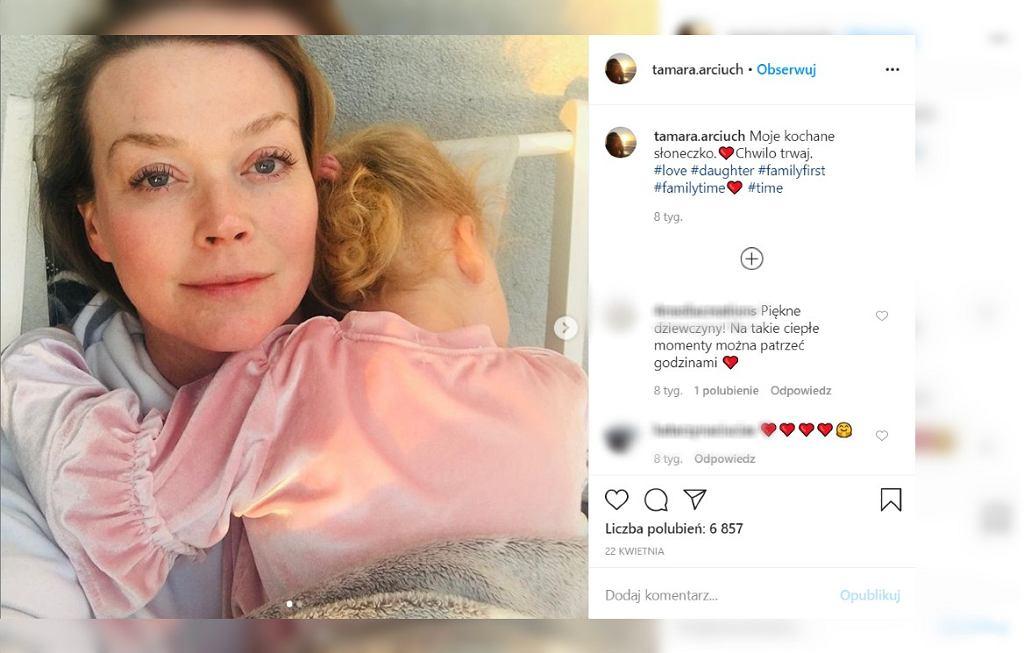 Tamara Arciuch o ciąży i porodzie