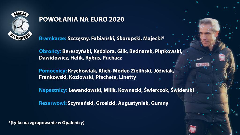 Powołania Sousy na Euro 2020