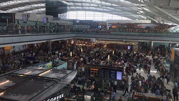 Lotnisko Heathrow, 27 maja 2017.