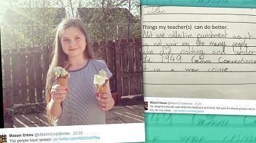 Rezolutna odpowiedź 11-latki podbiła serca ponad pół miliona użytkowników Twittera.