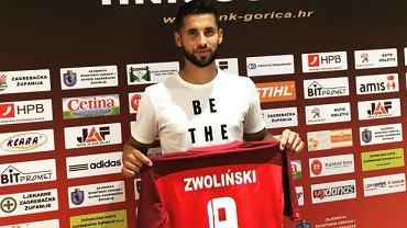 Łukasz Zwoliński piłkarzem HNK Gorica