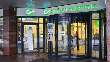 Oddzial banku Credit Agricole w Warszawie