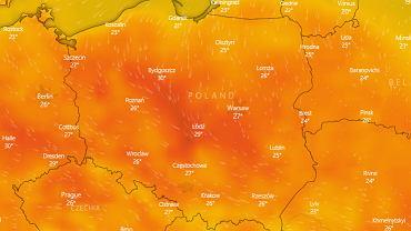 Pogoda. IMGW znów wydaje ostrzeżenia. Upały, burze, gradobicia