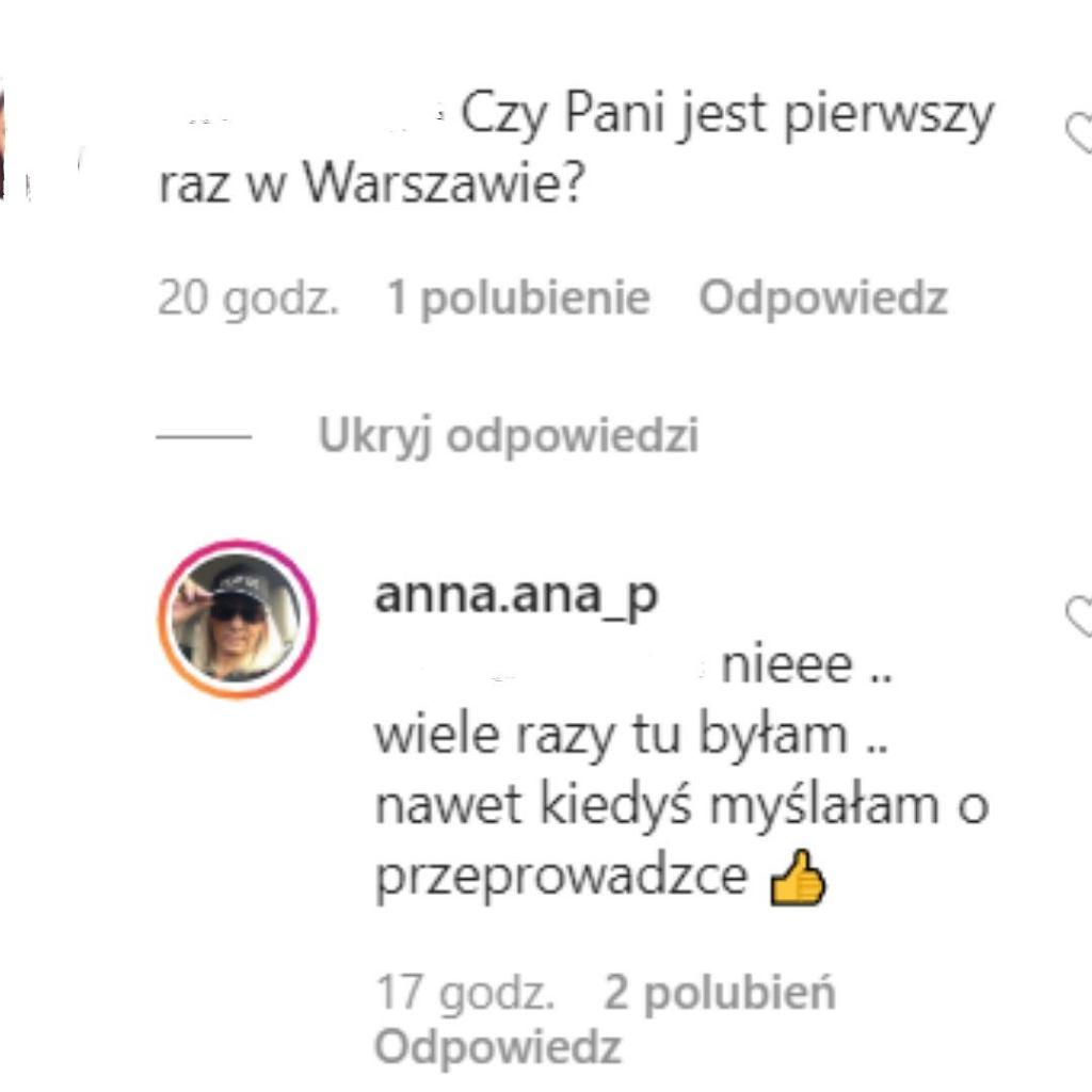Mama Łukasza w Warszawie