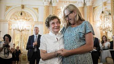 Halina Jędrzejewska 'Sławka' została wczoraj odznaczona tytułem Honorowej Obywatelki Warszawy