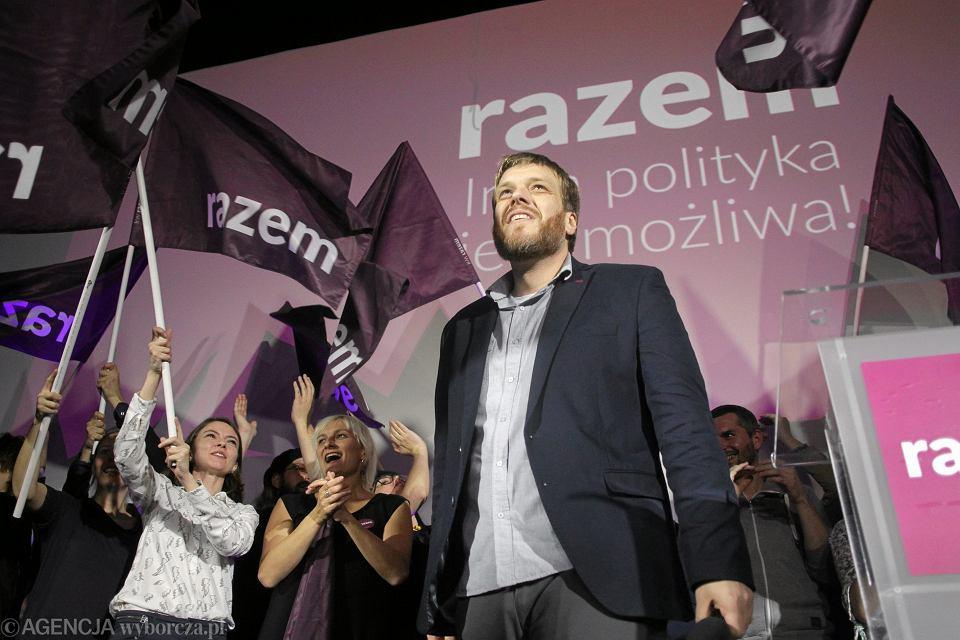 25.10.2015 r. Wieczór wyborczy w sztabie partii Razem