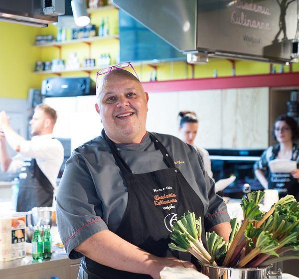 Warsztaty 'Domowe grillowanie' poprowadził Marco Ghia, szef Akademii Kulinarnej Whirlpool