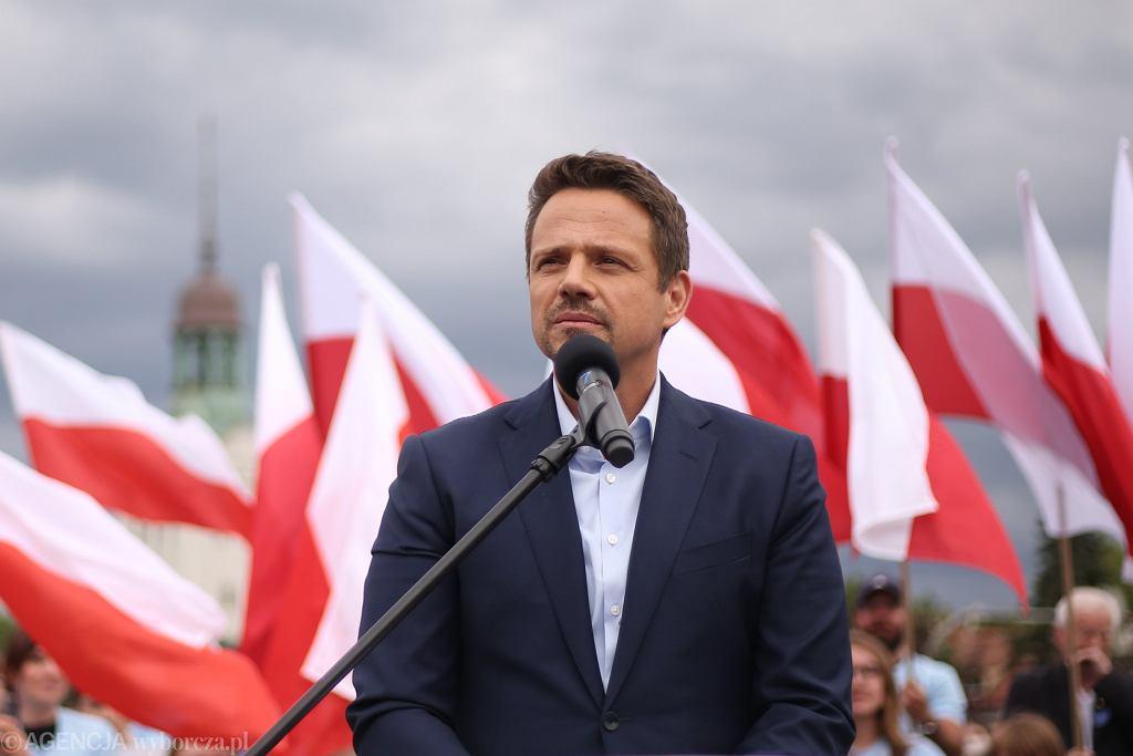 Wybory prezydenckie 2020. Rafał Trzaskowski na Śląsku kończy swoją kampanię wyborczą