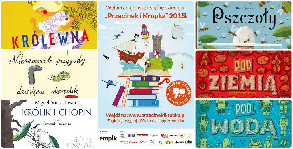 'Przecinek i Kropka' to organizowany przez Empik konkurs, w którym liczy się wszystko, co w książkach dla dzieci najważniejsze