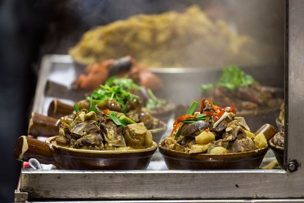 Street food w chińskim Hongkongu