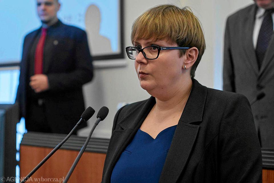 Wybory parlamentarne 2019. Na zdj. Ewa Zdrojewska