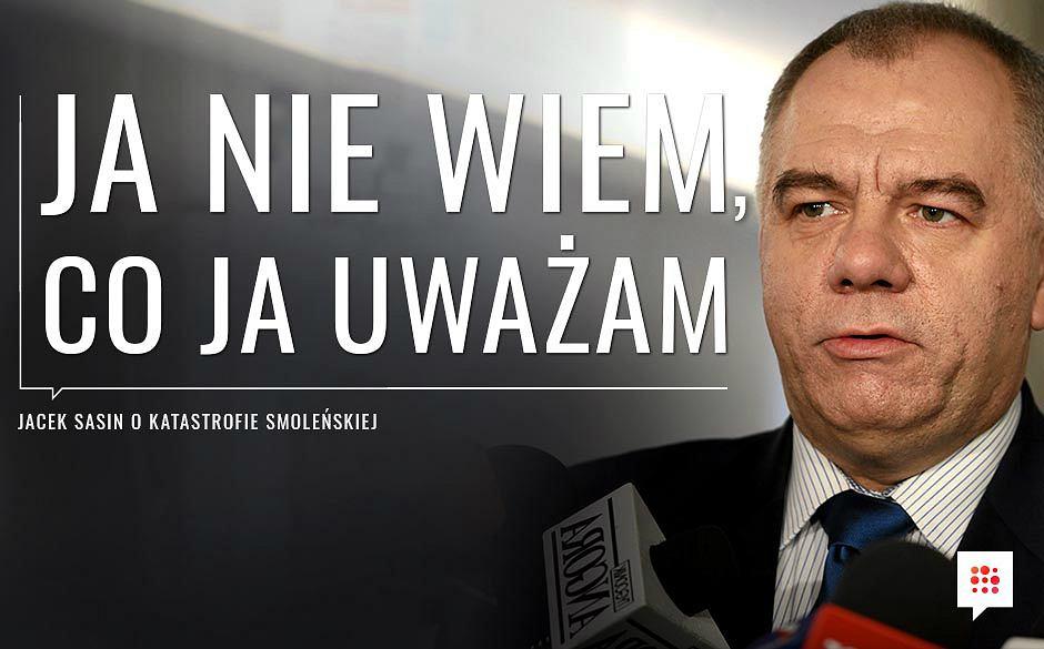 Jacek Sasin o katastrofie smoleńskiej - W programie