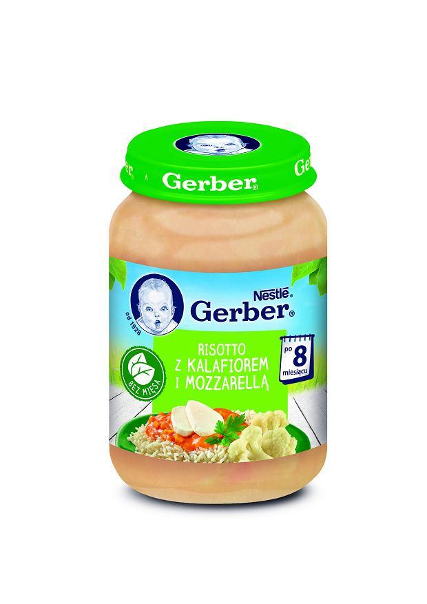 Gerber Risotto z kalafiorem i mozzarellą