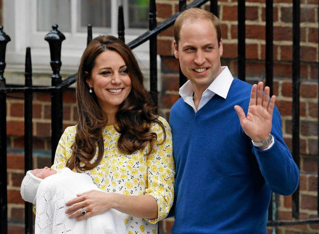 Księżna Kate i książę William z córeczką