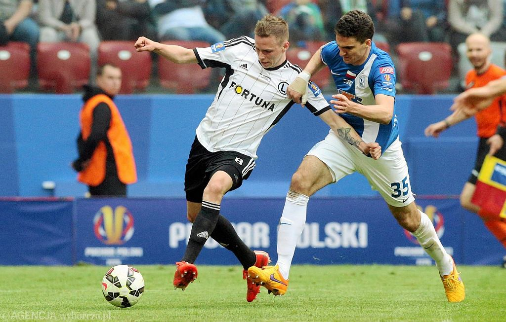 Finał Pucharu Polski: Lech Poznań - Legia Warszawa 1:2. Marcin Kamiński i Ondrej Duda