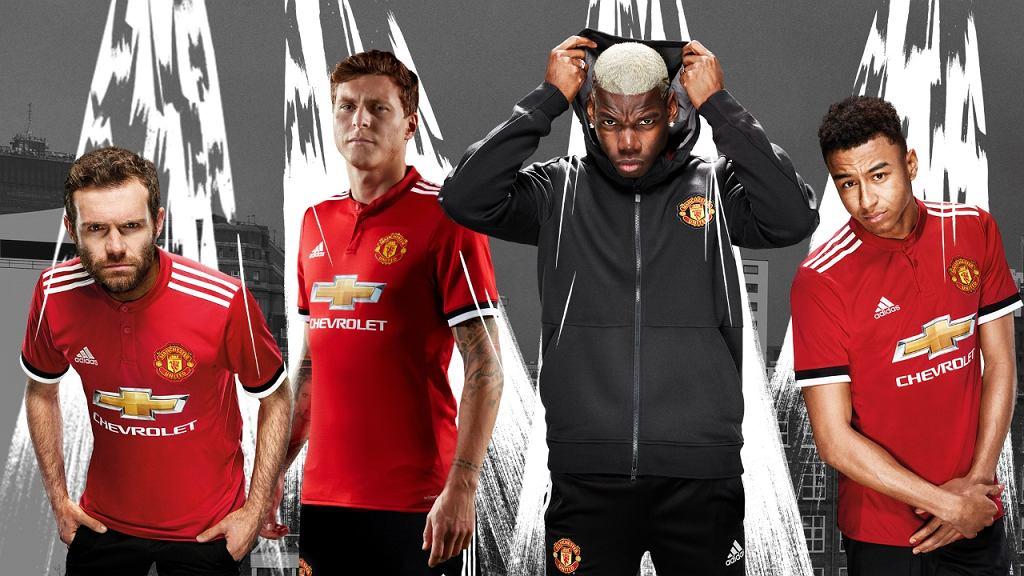 Domowe koszulki Manchesteru United na sezon 2017/18