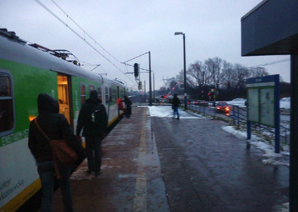 Incydent na stacji w Witanowie