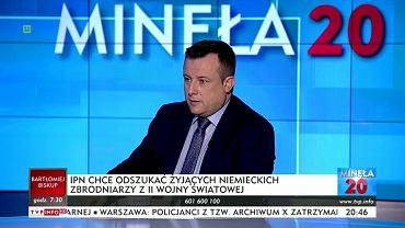 W TVP Info w programie 'Minęła 20' padło sformułowanie o 'polskich obozach zagłady'