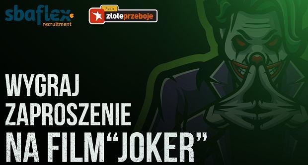 Wygraj zaproszenie na film 'Joker'