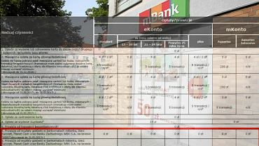 mBank podnosi opłaty za wypłaty z bankomatów