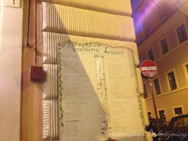 Najlepsza pizza w Rzymie - niby blisko centrum, a jednak trochę na uboczu.