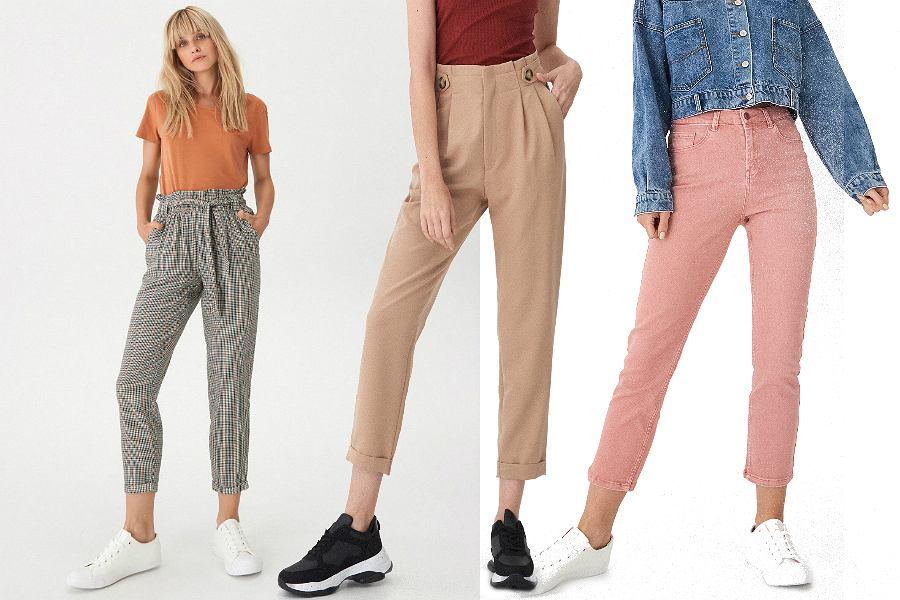 House spodnie damskie na jesień: wybieramy modele w