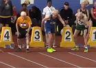 100-latek ustanowił pięć rekordów! Przebiegł 60 metrów w 19.13 sek. [WIDEO]