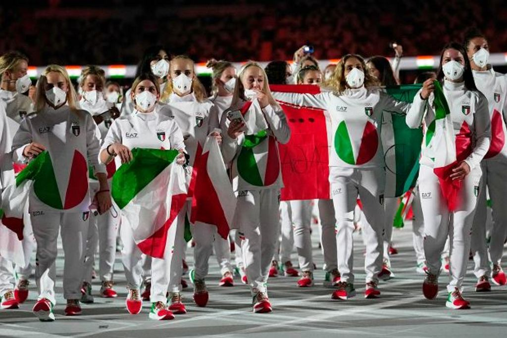 Włosi Igrzyska olimpijskie w Tokio