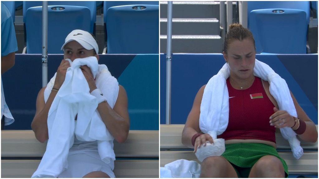 Aryna Sabalenka i Magda Linette, IO Tokio, tenis