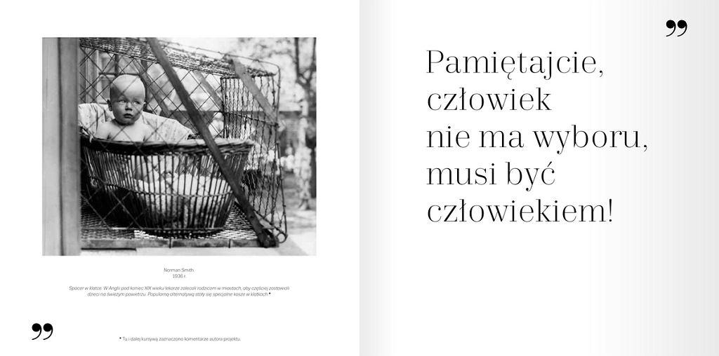 Karta z polskiej edycji albumu 'Lec. XX wiek'