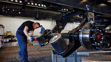 Fabryka firmy Wielton produkująca naczepy dla transportu ciężarowego