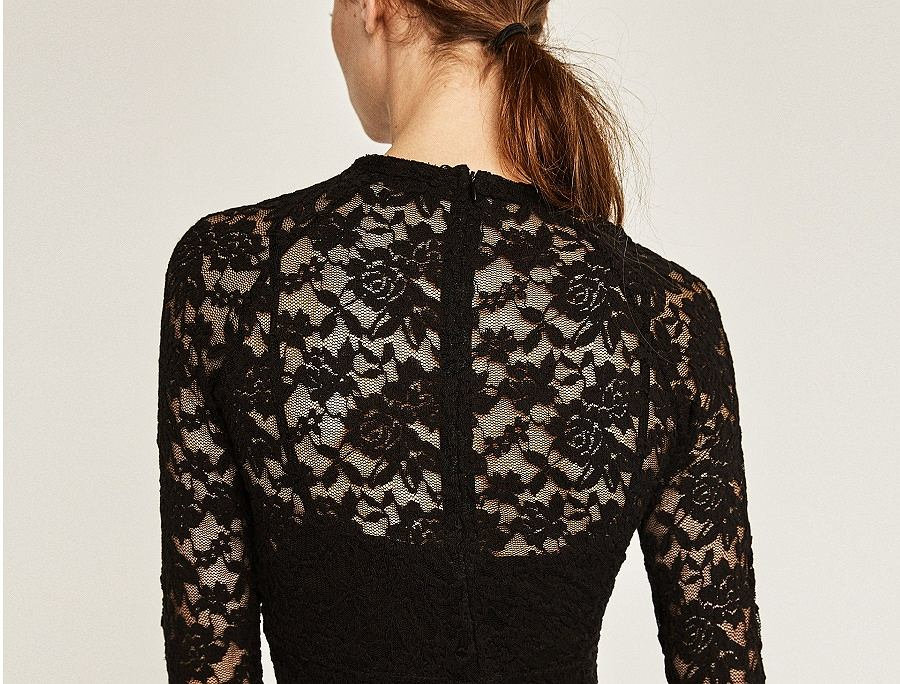 Czarna sukienka na studniówkę