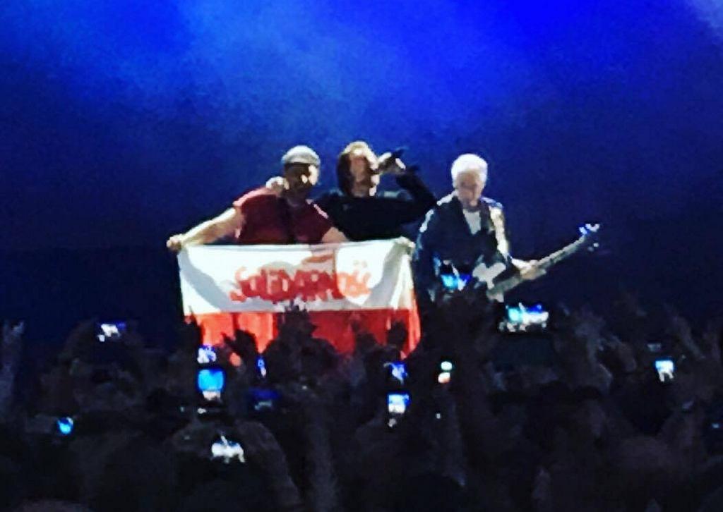 Koncert Bono i U2 w Amsterdamie ||