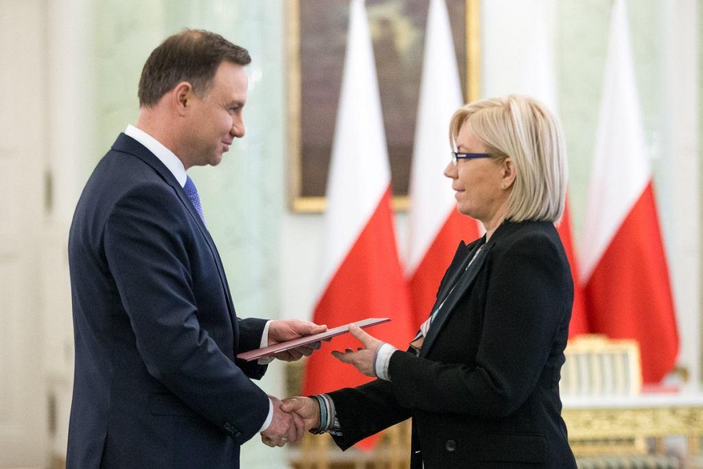 Prezydent powierzył Julii Przyłębskiej pełnienie obowiązków prezesa TK