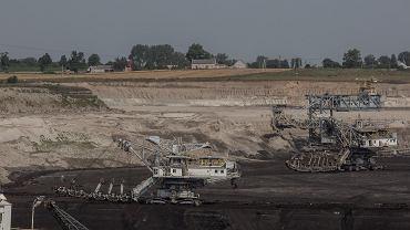 Kopalnia odkrywkowa węgla brunatnego, Stawiska koło Konina