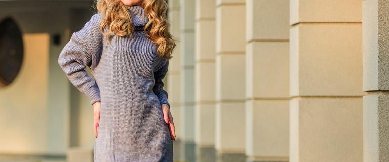 To najlepsze sukienki na jesień i zimę dla kobiet po 40-tce. Dzianinowe modele są ciepłe i niezwykle wygodne!