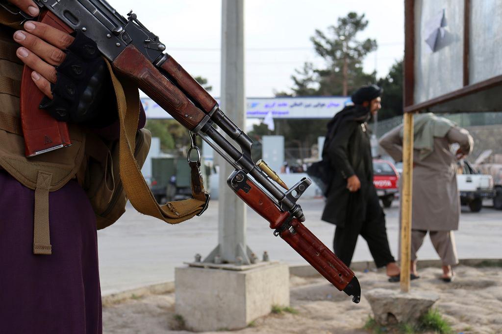 Talibscy wojownicy w Afganistanie