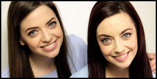 Niamh i jej 'obca bliźniaczka', źródło: TwinStrangers.com