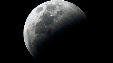 Całkowite zaćmienie Księżyca, Meksyk, 21 stycznia 2019 r.