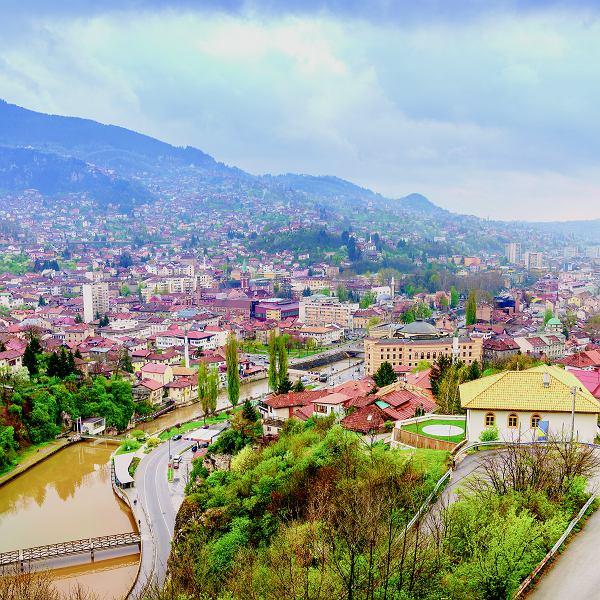 Widok na Sarajewo