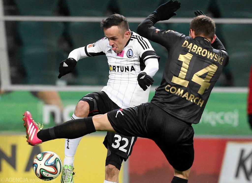 Miroslav Radović w meczu z Cracovią (2:0)