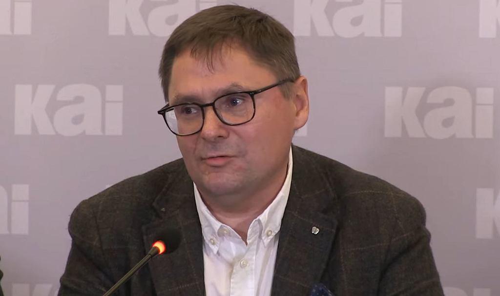 Tomasz Terlikowski prezentuje raport w sprawie sekty u dominikanów