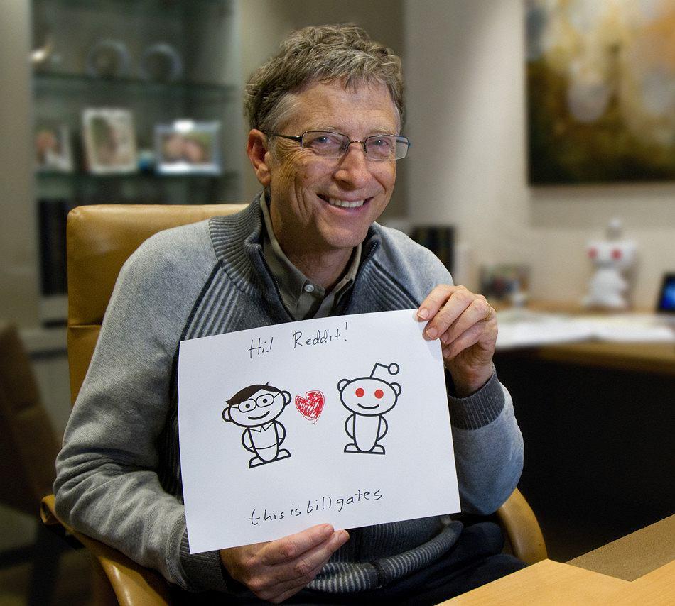 Bill Gates i AMA