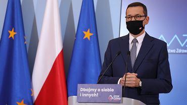 """Mateusz Morawiecki przedstawił Tarczę Finansowa PFR 2.0. """"Jesteśmy na miejscu numer jeden w Europie"""""""