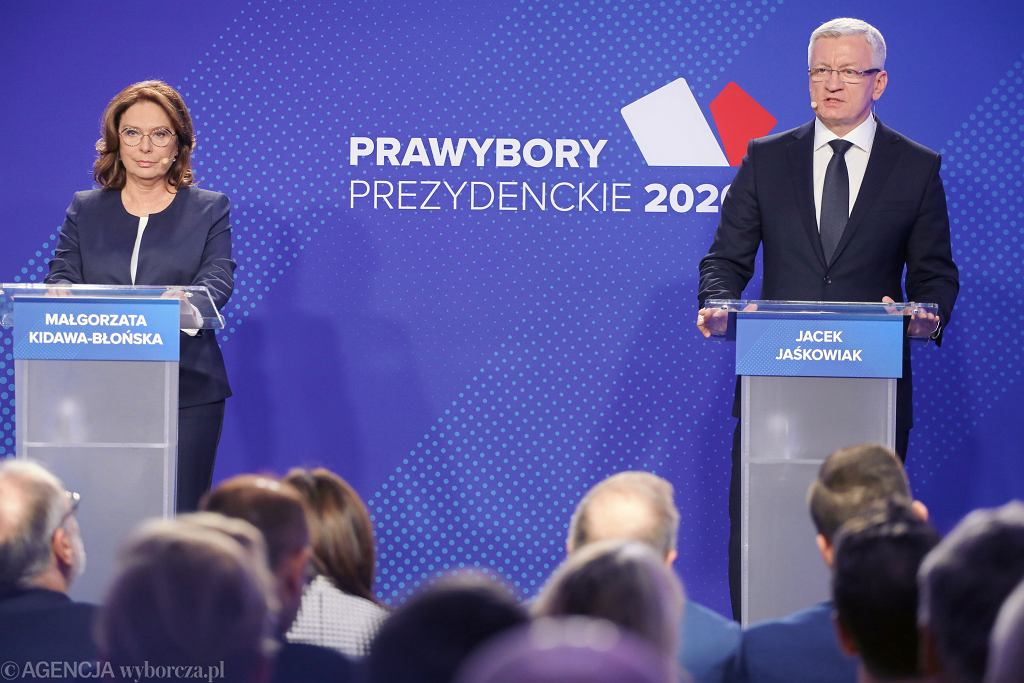 Debata Małgorzaty Kidawy-Błońskiej i Jacka Jaśkowiaka